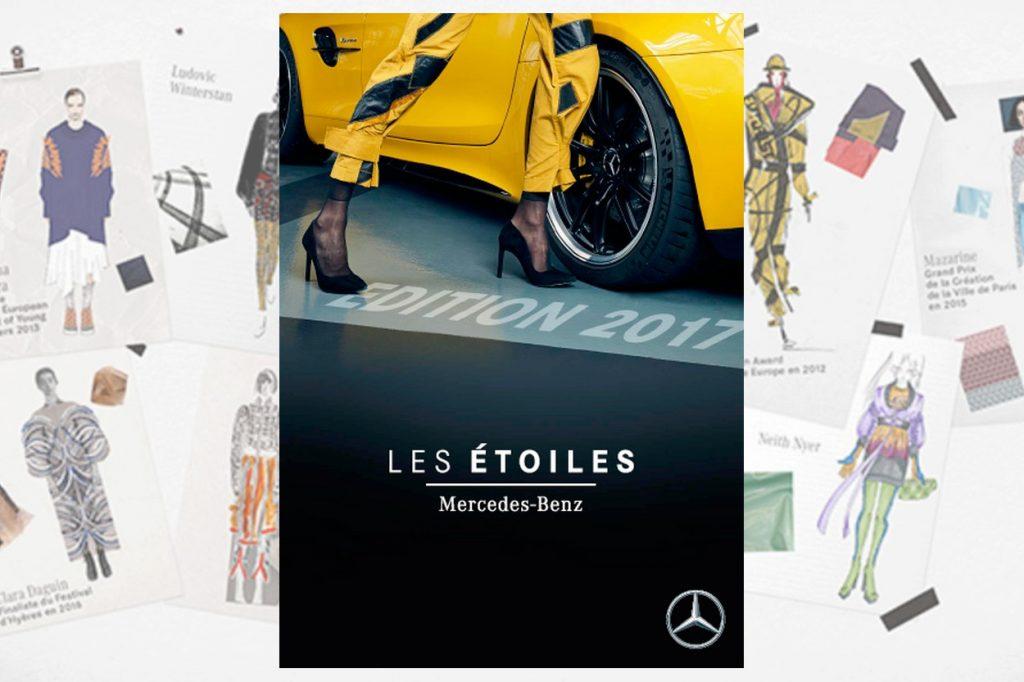 Alexis Mabille dévoile les tenues des finalistes du concours Les Etoiles Mercedes-Benz