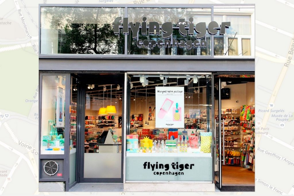 Flying Tiger Copenhagen ouvre une première boutique parisienne