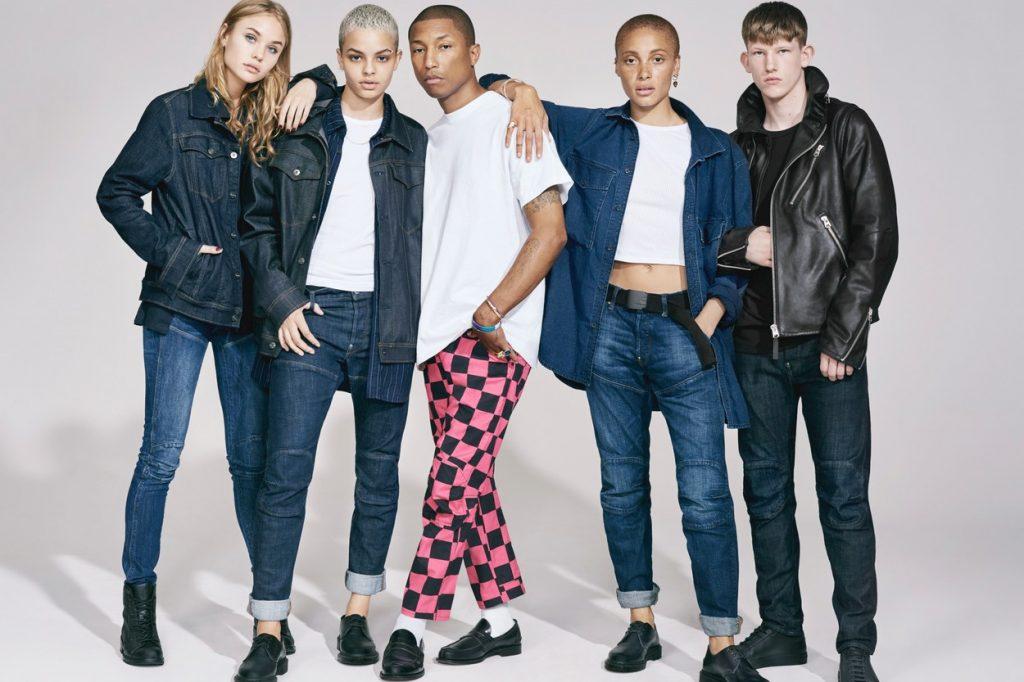 Campagne Automne/Hiver 2017 G-Star RAW x Pharrell x Adwoa Aboah