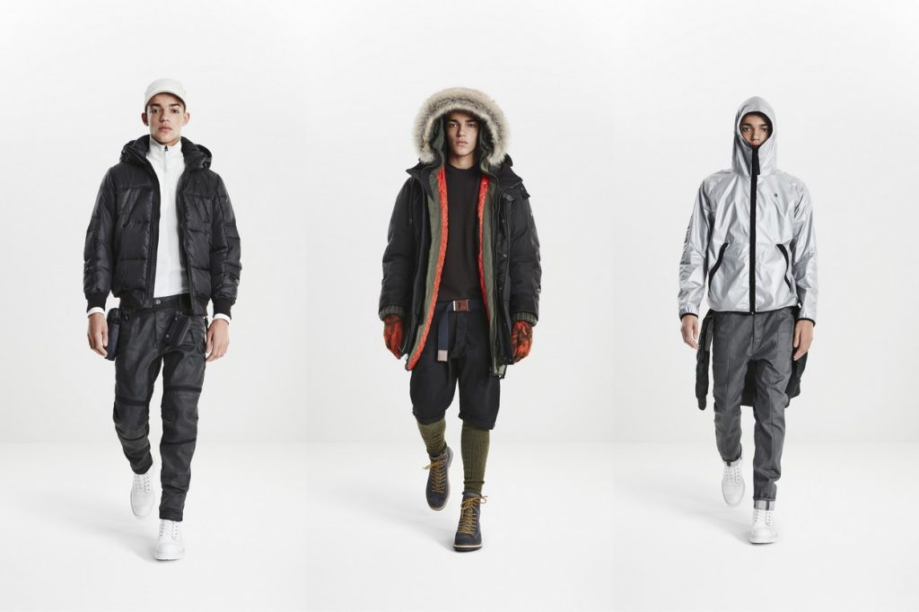 Lookbook G-Star RAW Automne/Hiver 2017