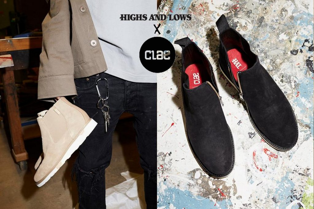 "Highs and Lows x CLAE ""Richards Zip Vibram"""