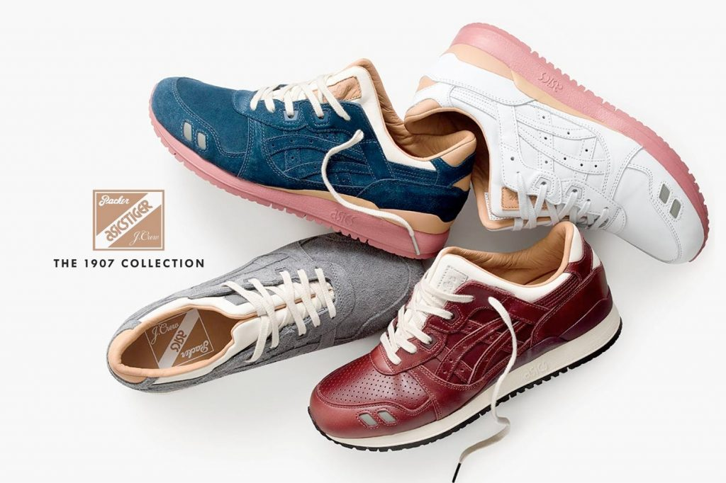 "Packer x J.Crew x ASICS Tiger ""1907 Collection"""