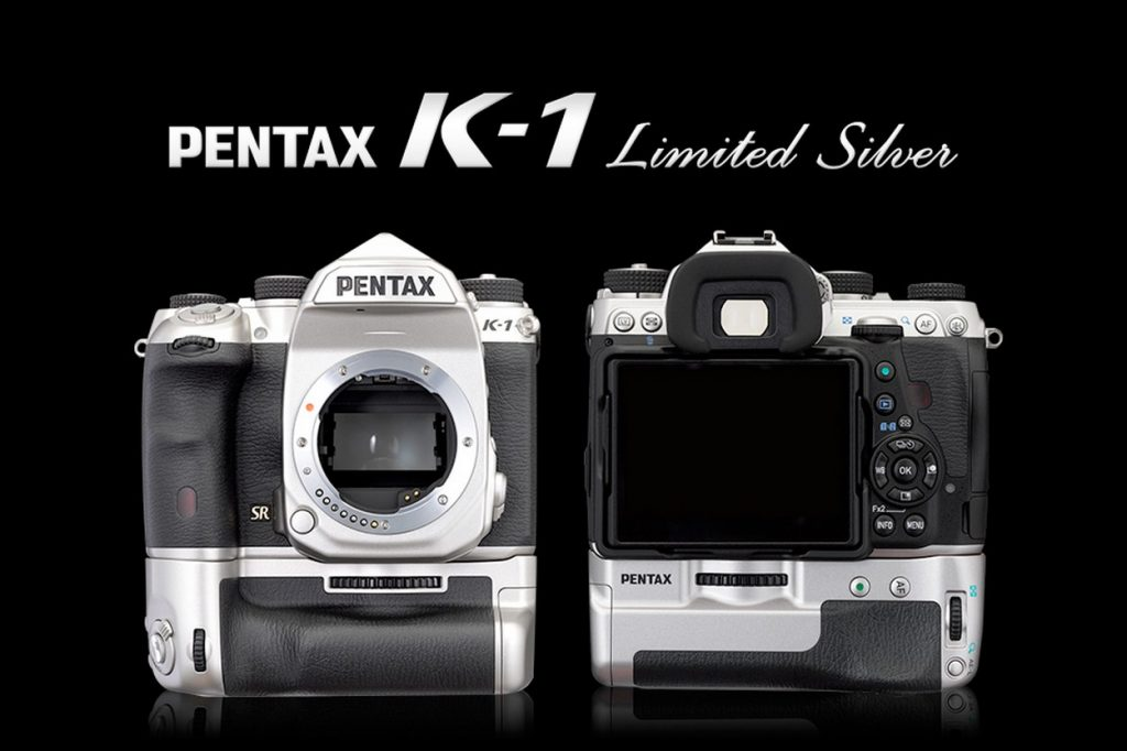 "PENTAX K-1 Edition ""Limited Silver"""