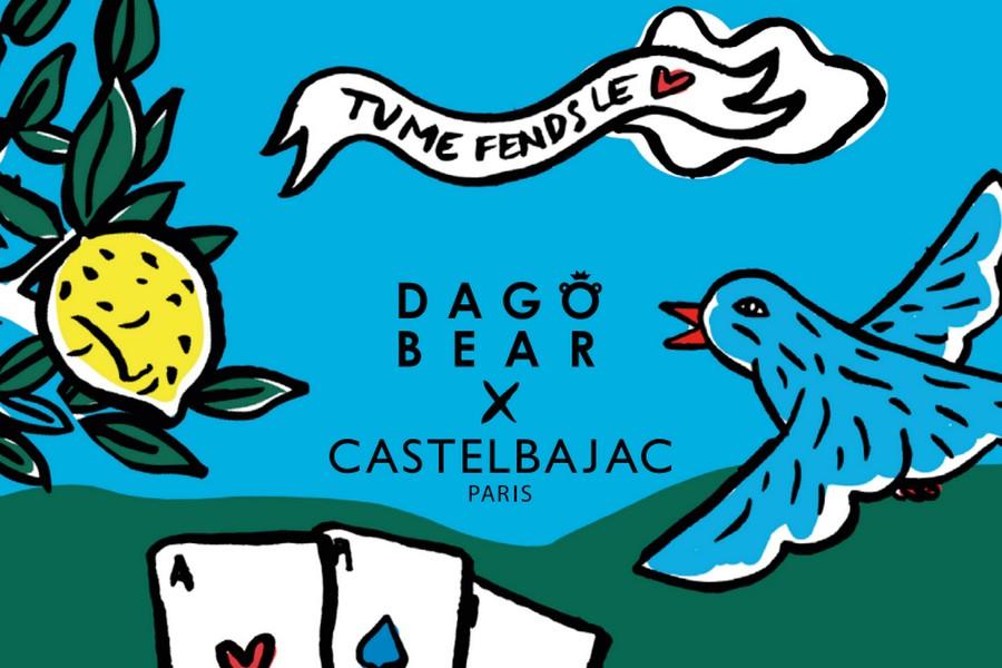 CASTELBAJAC Paris x Dagobear