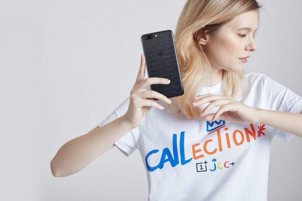 Édition limitée OnePlus 5 JCC + imaginée par Jean-Charles de Castelbajac