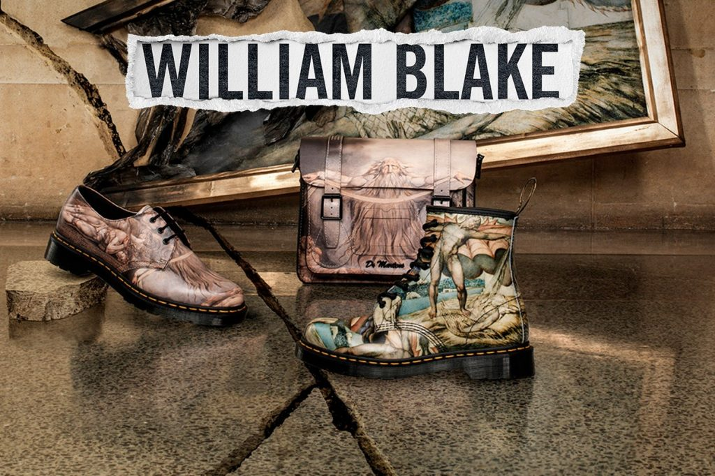 Collection Dr. Martens x William Blake
