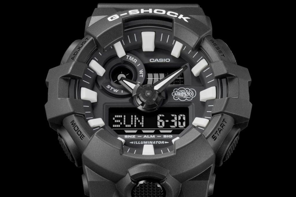 "Eric Haze x G-Shock GA-700EH-1AER ""35th Anniversary"""
