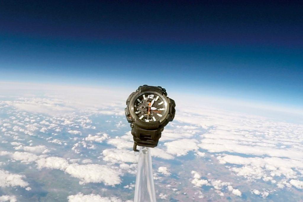 La G-Shock Gravitymaster s'est envolée dans l'espace