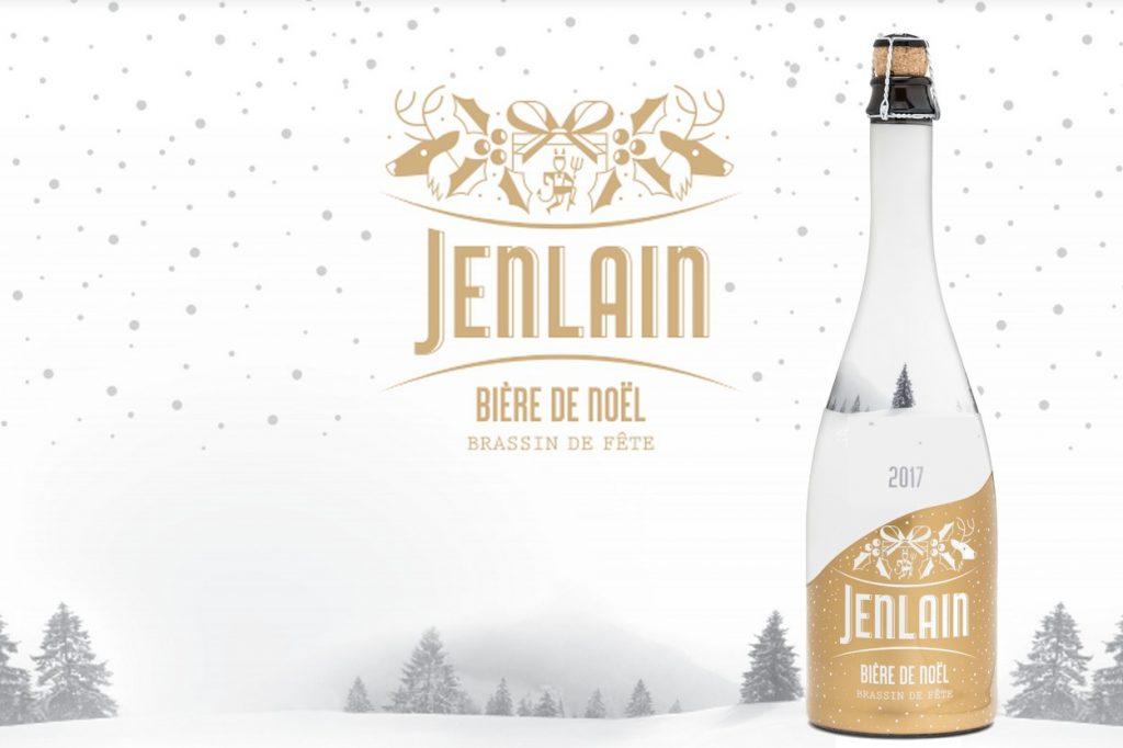 Jenlain lance la bière de Noël édition 2017