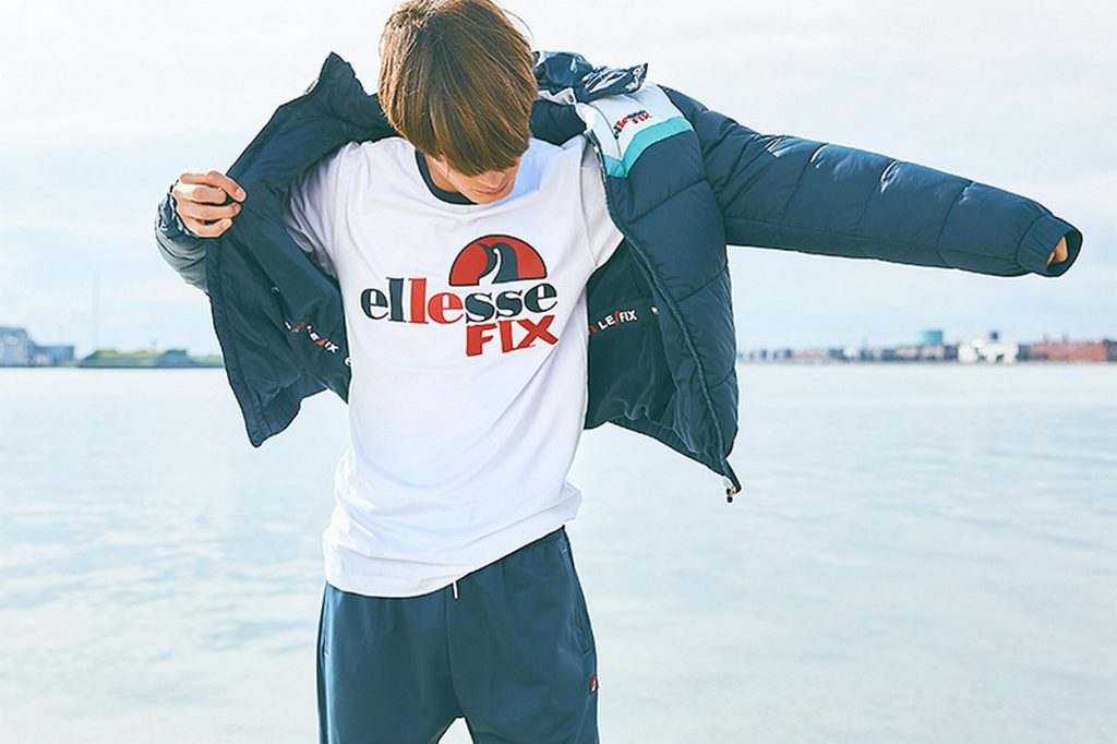 Collaboration Le Fix x ellesse