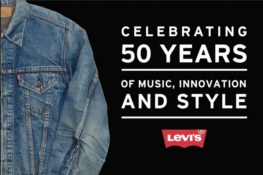 Levi's célèbre le 50ème anniversaire de la veste Trucker