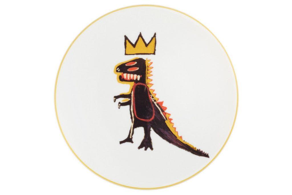 "Ligne Blanche Paris x Jean-Michel Basquiat ""Gold Dragon"""