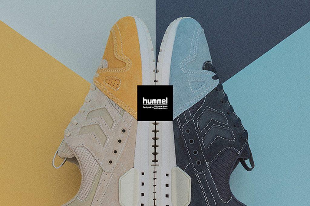 mita sneakers x hummel Marathona OG by Shigeyuki Kunii