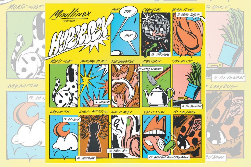Moullinex dévoile le clip de Carnival tiré de son album Hypersex