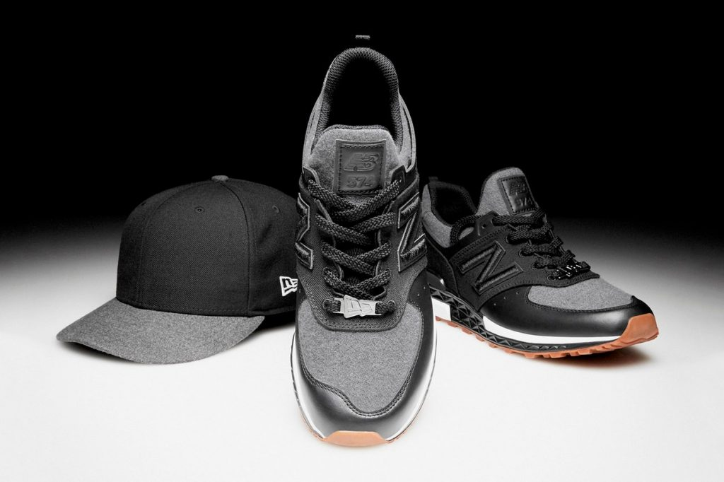 Collection capsule New Era x New Balance 574 Sport