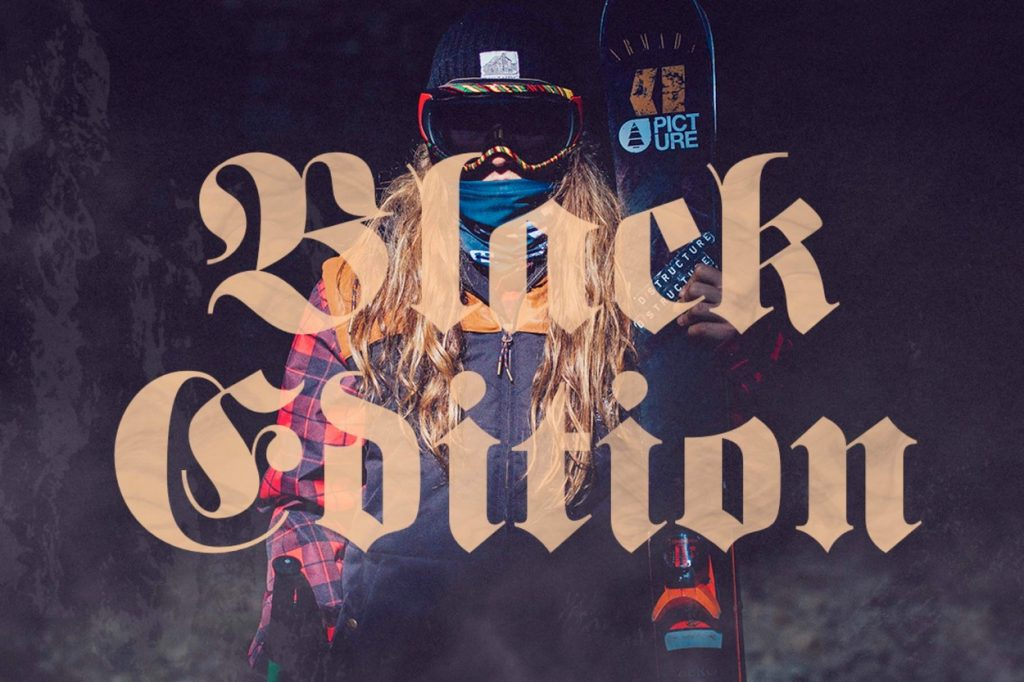 "Collection Picture Organic Clothing ""Black Edition"""