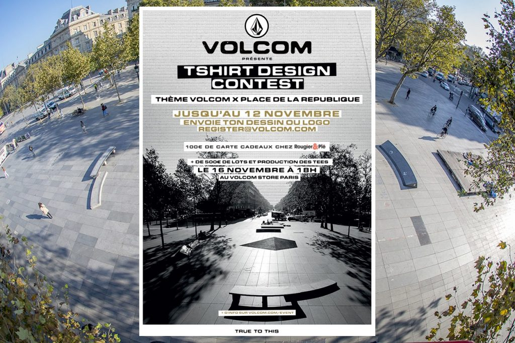 T-shirt Design Contest Volcom x Republique