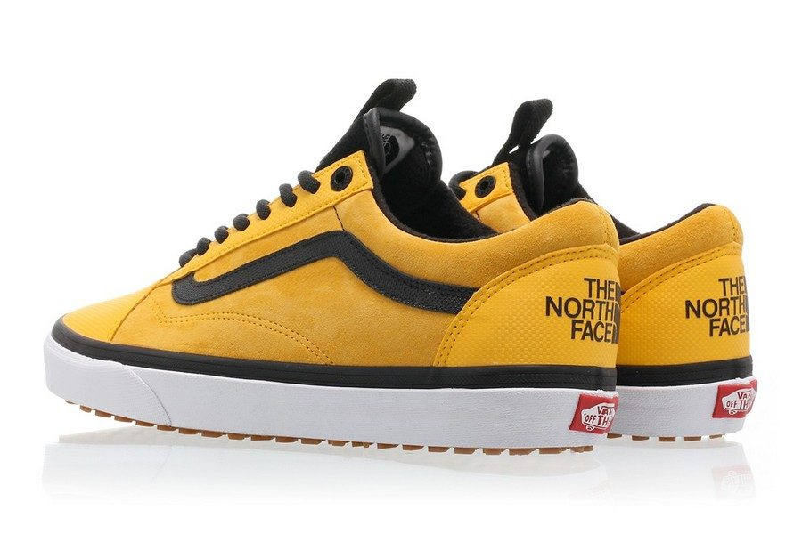 vans the north face chaussures