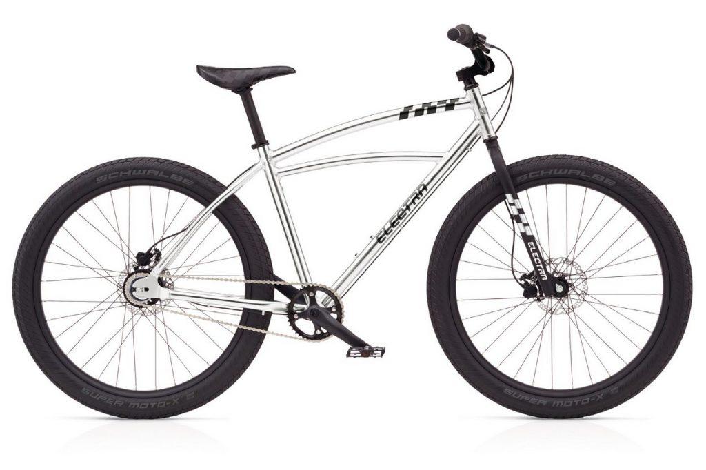 Vélo ELECTRA Super Moto silver 8i