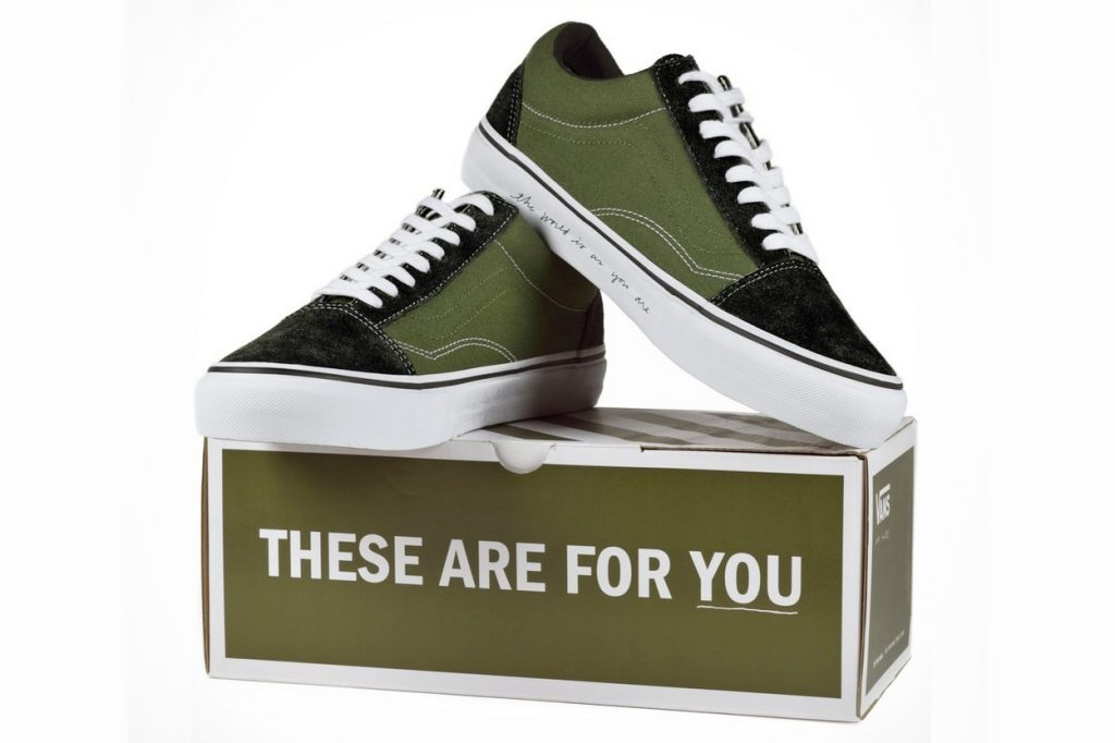 Ace Hotel x Vans Vault Limited Edition Old Skool Sneaker