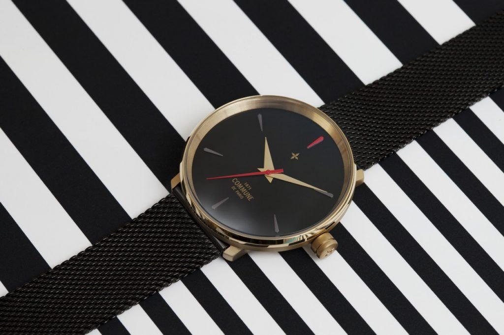 Commune de Paris 1871 lance sa première collection de montres