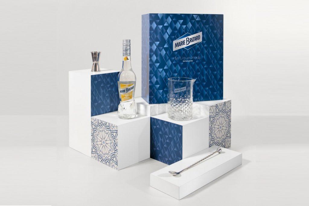 Marie Brizard dévoile un coffret cocktail pour les fêtes de fin d'année