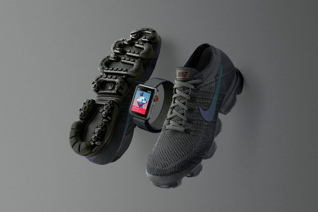 Midnight Fog Nike Apple Watch and Nike Air Vapormax