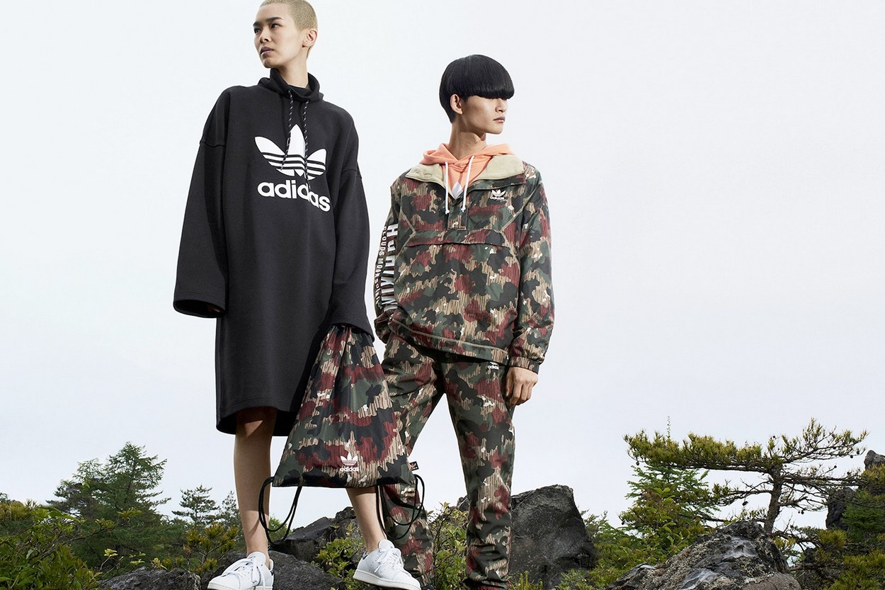 "Pharrell Williams & adidas Originals au sommet avec ""Hu Hiking"""
