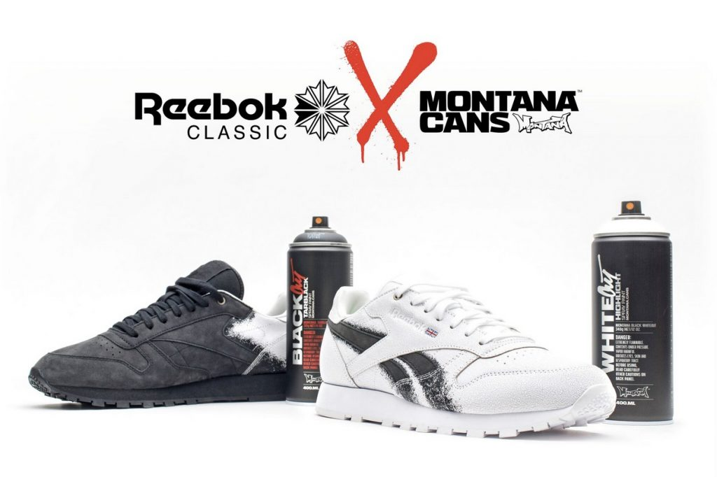 Montana Cans x Reebok Classic Leather