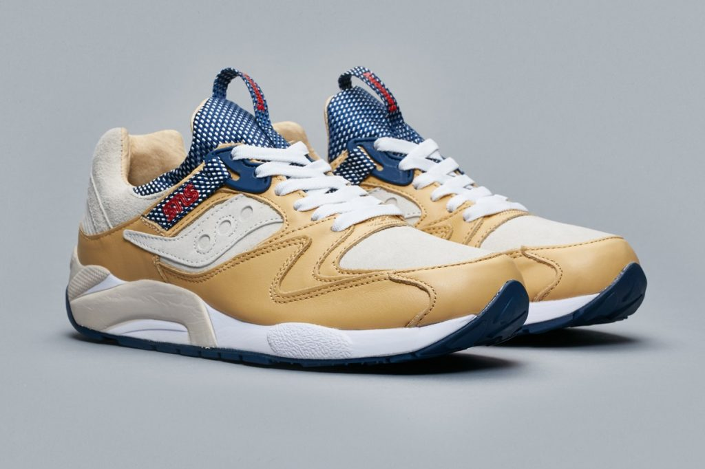 "Sneakersnstuff x Saucony Grid 9000 ""Business Class"""