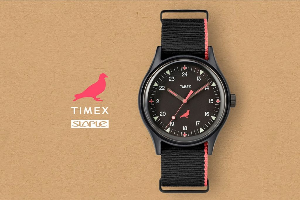Staple x TIMEX MK1 Aluminum Watch