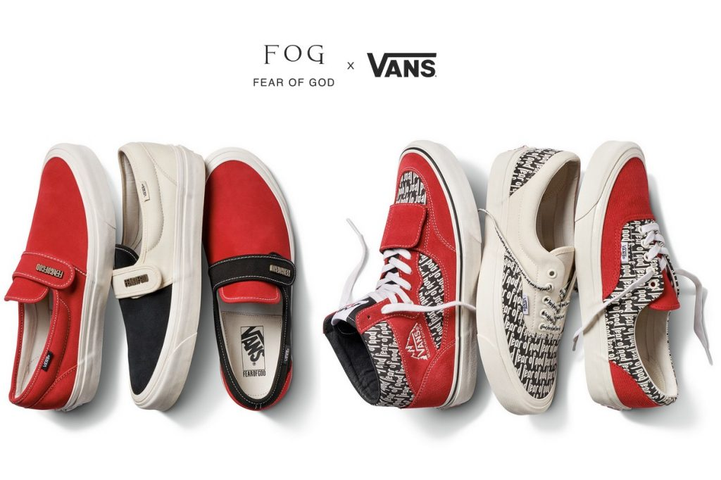 Collection sneakers Fear of God & F.O.G. x Vans