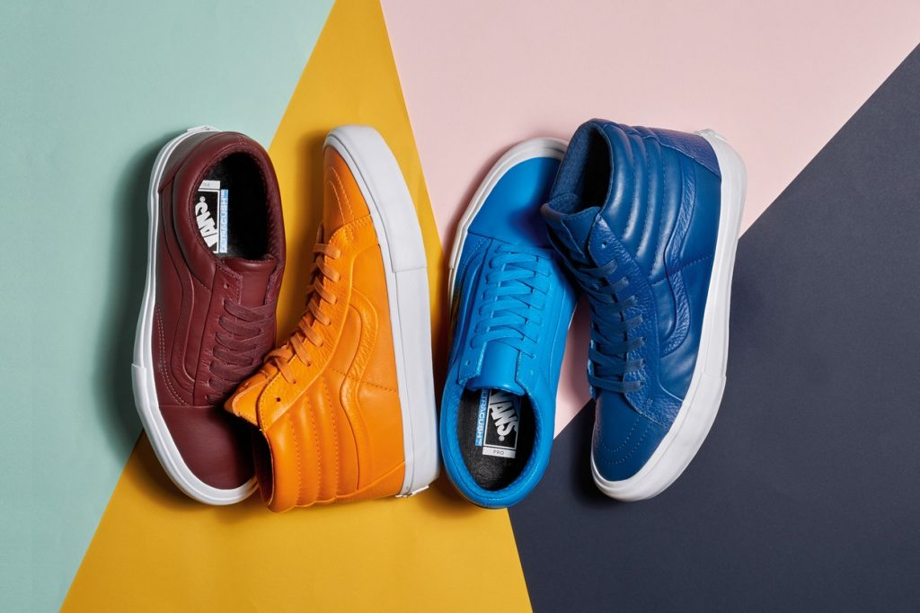 Vault by Vans présente sa collection Vibrant Stitch and Turn