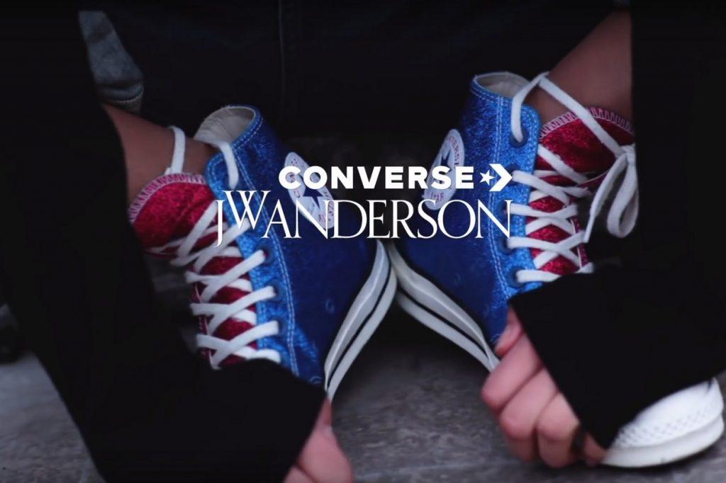 "Converse x J.W. Anderson ""Glitter_Gutter"" Pack"
