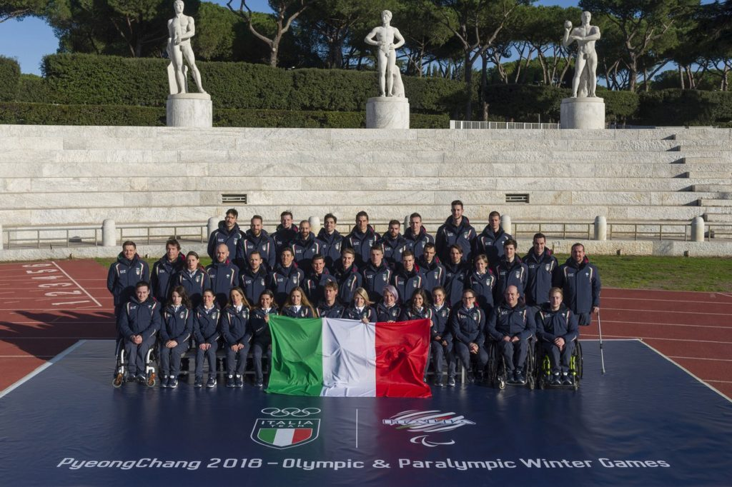 EA7 Emporio Armani habille l'équipe Nationale Italienne pour les JO d'Hiver 2018
