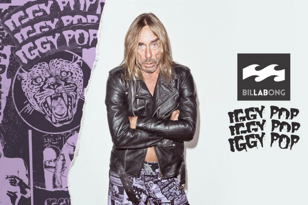 Iggy Pop x Billabong LAB Collection