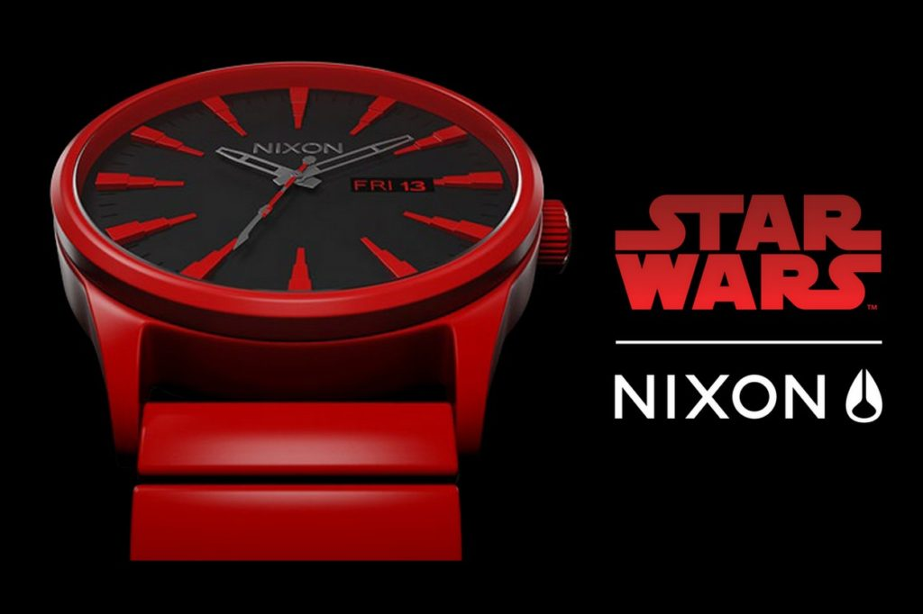 "Collection Star Wars x Nixon ""The Last Jedi"""