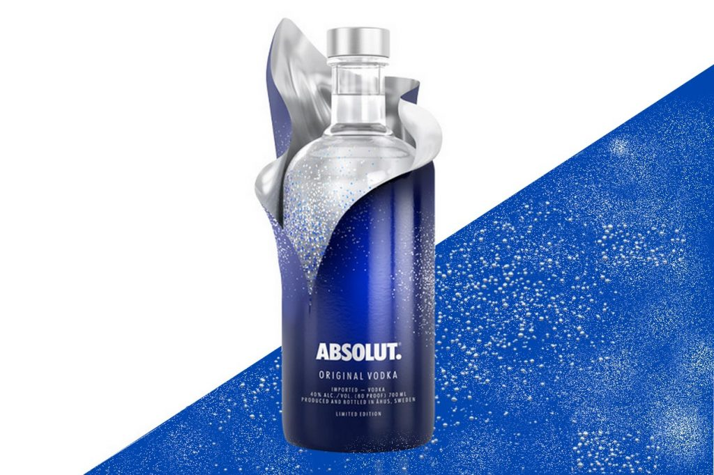 Absolut Vodka Reveal Edition Limitée