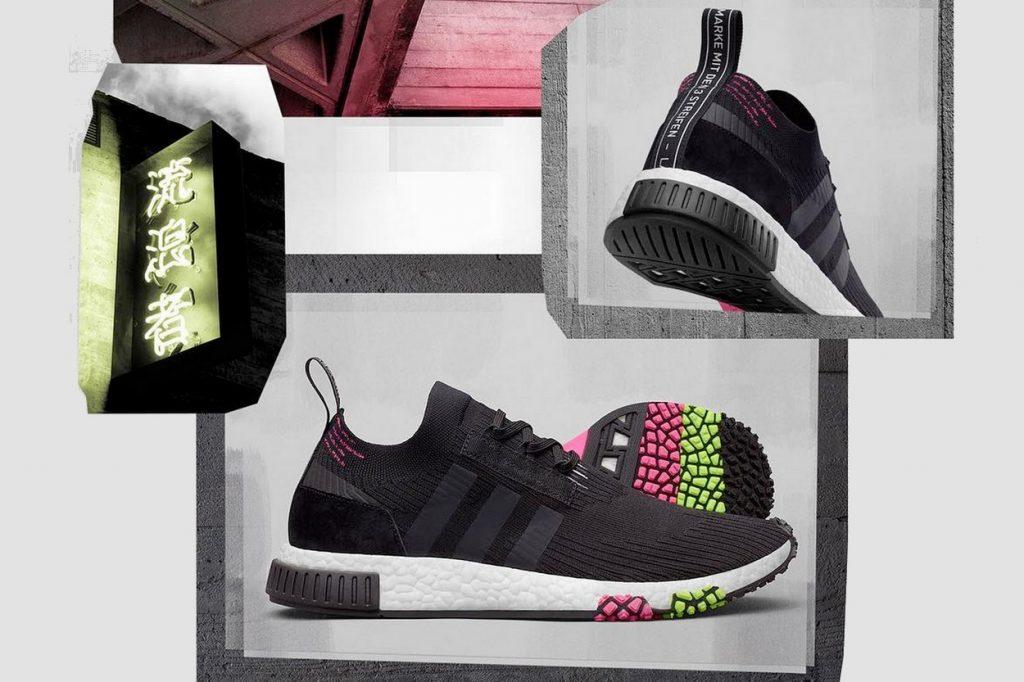 adidas Originals NMD_Racer PK Core Black/Solar Pink