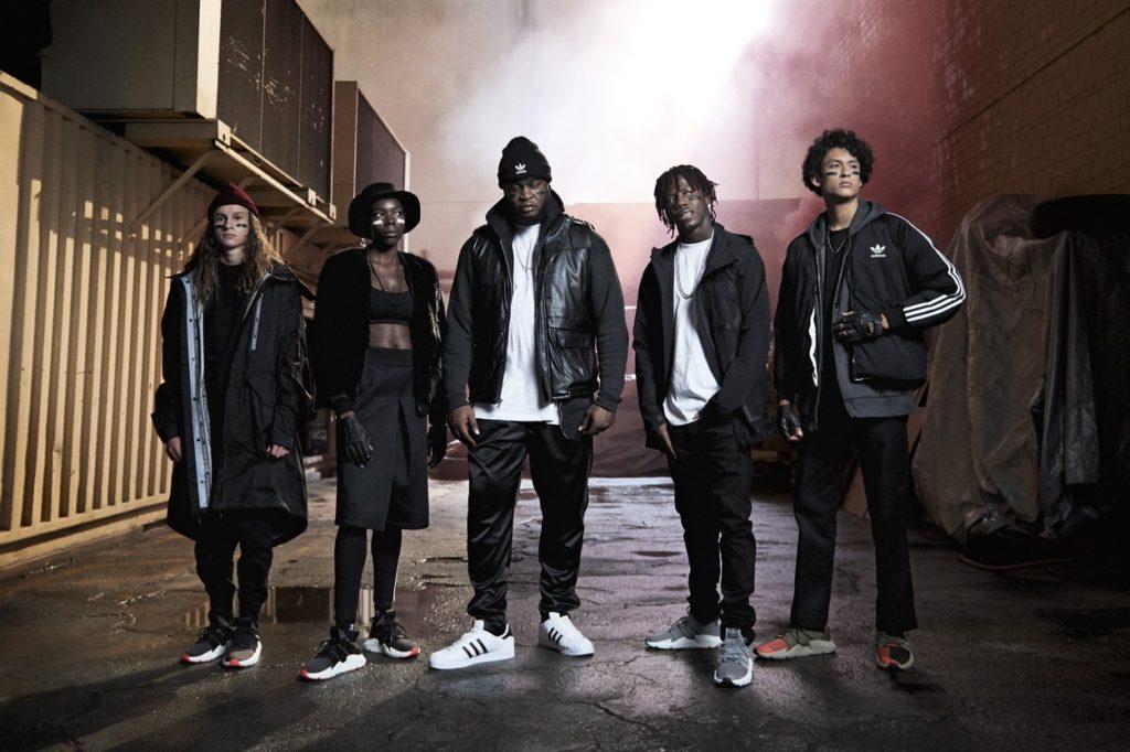 "Campagne vidéo adidas Originals ""Original Is Never Finished"" 2018"