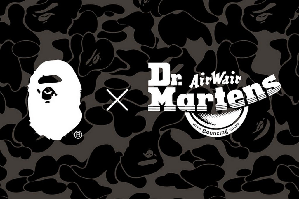 Collection BAPE x Dr. Martens