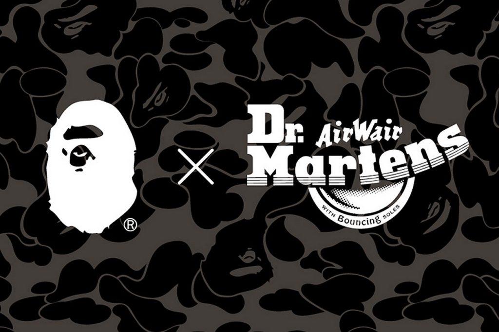 Collection BAPE x Dr. Martens