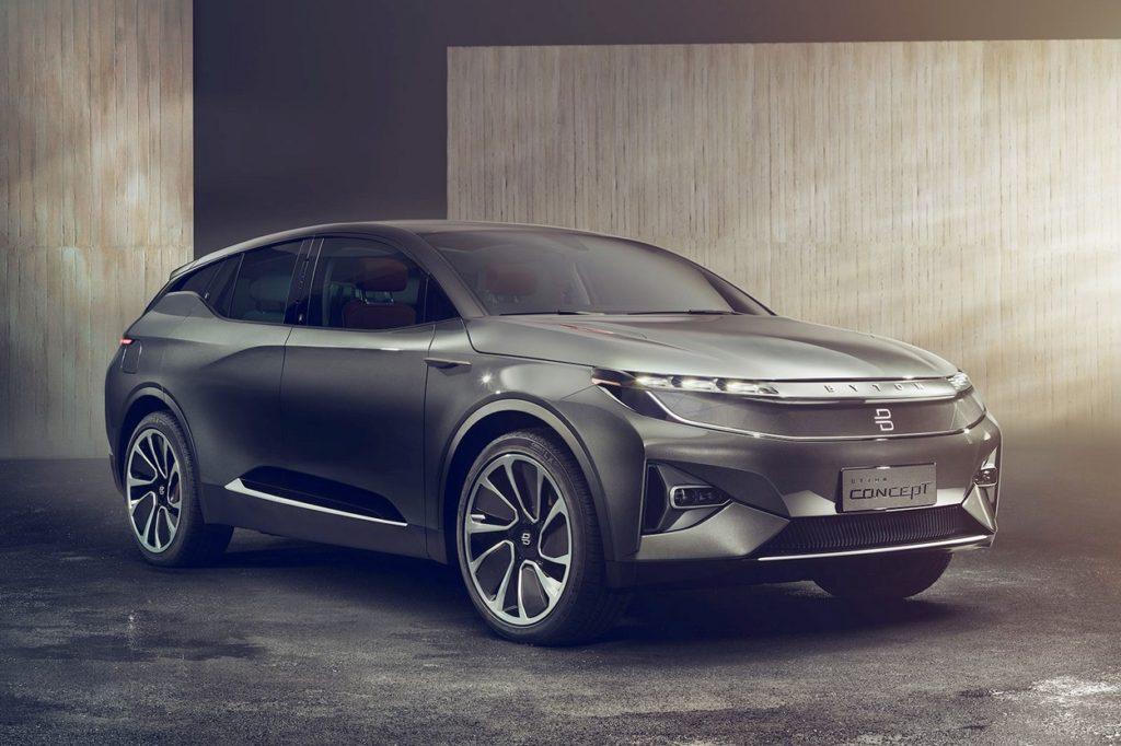 Byton dévoile un SUV 100 % électrique