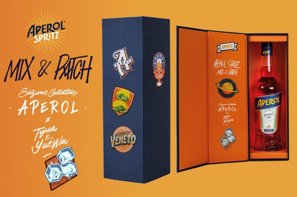 "Coffret Aperol Spritz ""Mix & Patch"" x Tyrsa & Yué Wu"