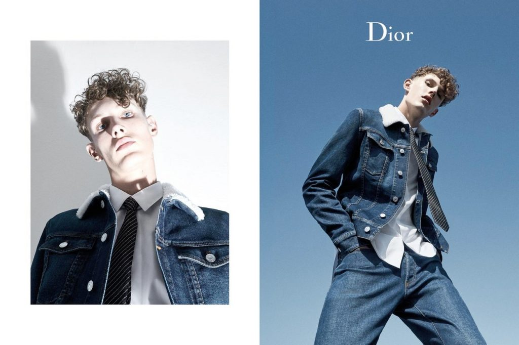 Collection Dior Homme Denim Printemps 2018