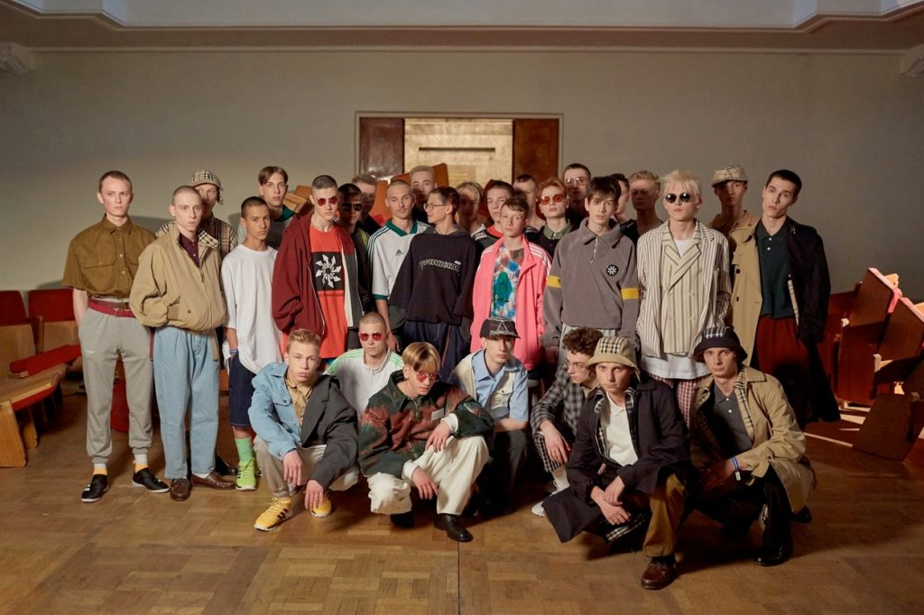 Gosha Rubchinskiy's Spring/Summer 2018 Collection