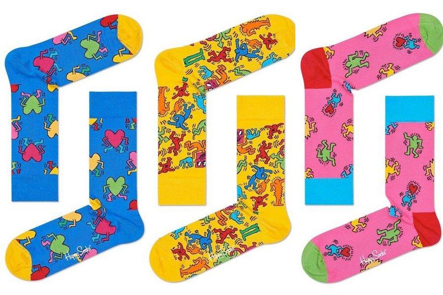 happy-socks-x-keith-haring-03