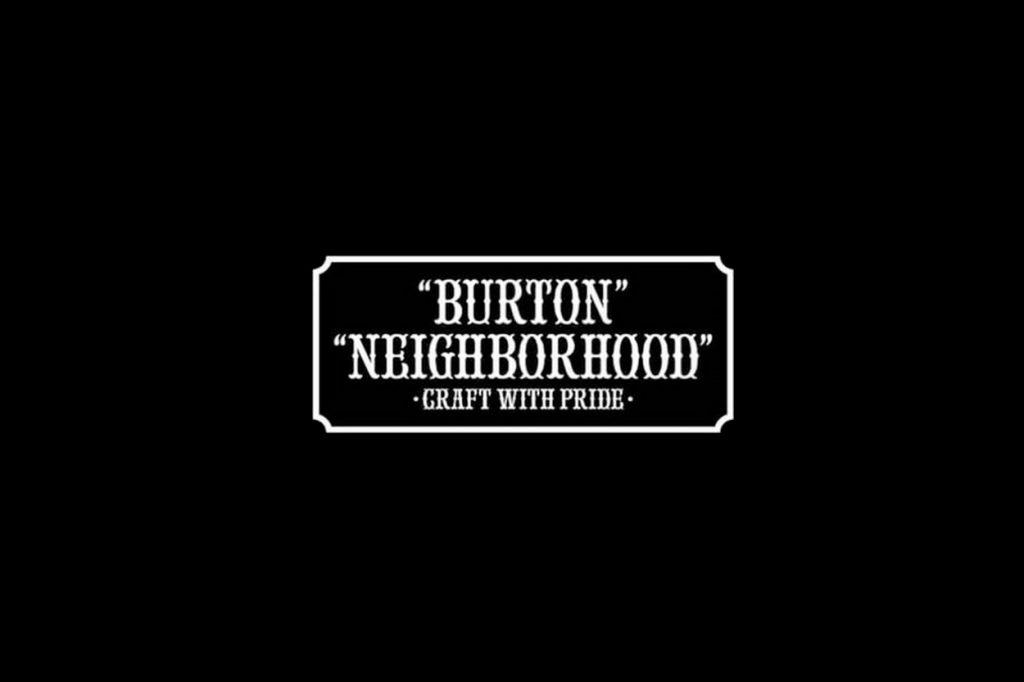Collection NIGHBORHOOD x Burton Hiver 2017