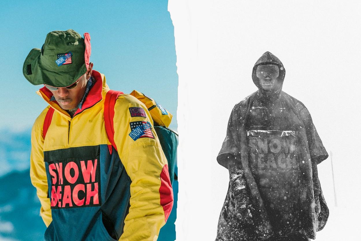 Polo Ralph Lauren Reissues SNOW BEACH