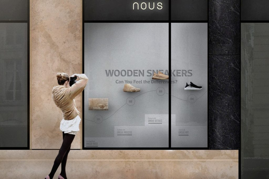 Wooden Sneakers x nous